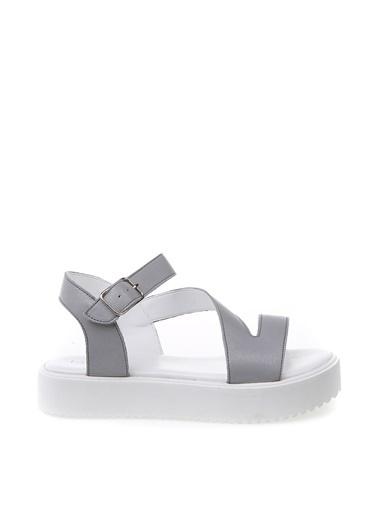 Fabrika Sandalet Gümüş